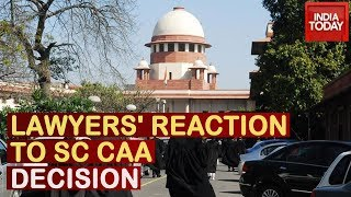 Watch Reactions Of Lawyers Outside Supreme Court On SC's No Stay Decision On CAA