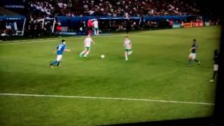 Italy 0 Ireland 1 - Brady goal,Euro 2016