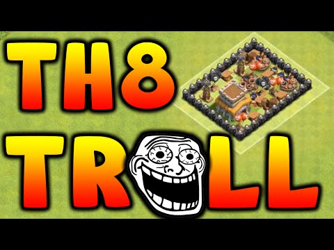 Town hall level 5 base design and troll playlist