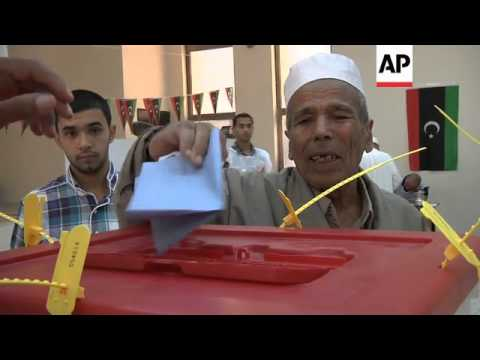 Libyans turn out to vote in first election since fall of Gadhafi
