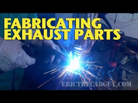 Fabricating Exhaust Parts -EricTheCarGuy