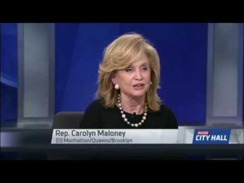 Rep. Carolyn Maloney on Inside City Hall: Misleading Viewers