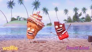 Waffle: Dessert Island Trailer