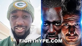 "TERENCE CRAWFORD ANNOUNCES ""MEAN MACHINE"" KAVALIAUSKAS FIGHT AT MONDAY NIGHT FOOTBALL"
