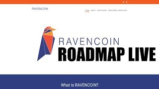 Ravencoin Whitepaper and Roadmap Update LIVE