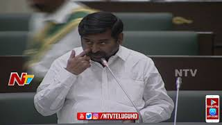 Minister Jagadish reddy Speech on Electricity Department || Telangana Budget session 2018