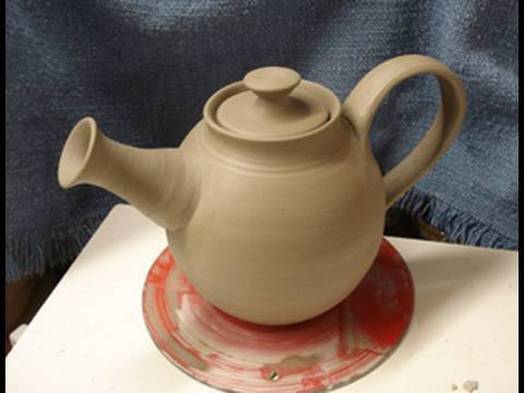 Throwing making a clay pottery tea pot on the wheel how to make demo youtube - Why you should cook clay pots ...