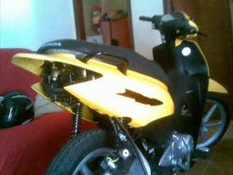 Honda biz 125 + amarela