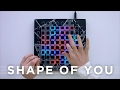 Ed Sheeran - Shape Of You (Ellis Remix)  Launchpad Cover