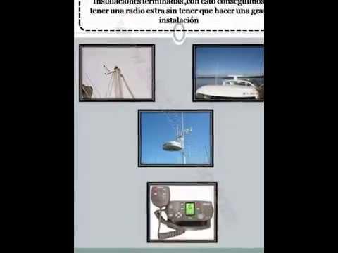Conectar dos emisoras de vhf a una sola antena del barco