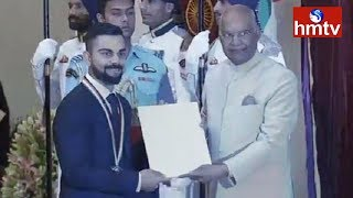National Sports Awards Distribution Ceremony In Delhi  | hmtv