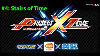 Project X - Project X Zone Official Soundtrack CD #4 Stairs of Time *Extended*