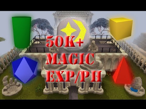 50-70k mage exp p/h – Runescape 07 – Mage training arena
