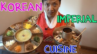 9 Course TRADITIONAL Korean ROYAL Cuisine (What Korean Emperors Ate)