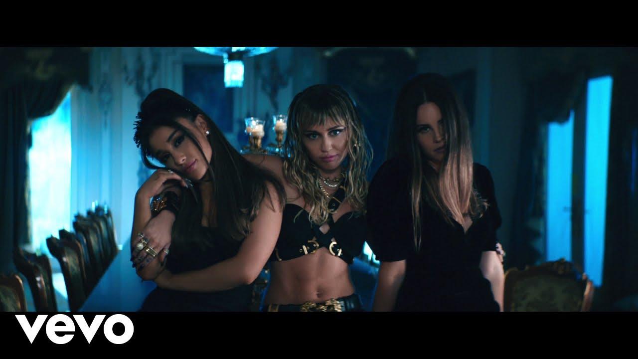 "Ariana Grande, Miley Cyrus, Lana Del Rey - 新曲""Don't Call Me Angel (Charlie's Angels)""のMVを公開 2019年9月13日配信開始 thm Music info Clip"