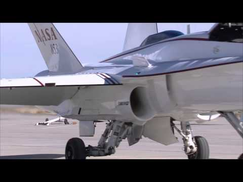 Math Models Make F-18 into Space Launch System