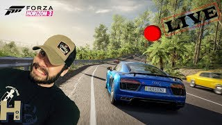 Forza Horizon 3 🔴LIVE Lets make some Money and Have some Fun and Maybe a Credit Giveaway!!