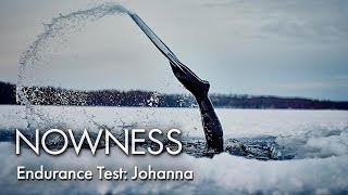 Johanna Under The Ice: Freediver Johanna Nordblad on the accident that led her to a world record