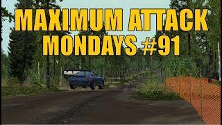 Maximum Attack Mondays #91 - Richard Burns Rally (CZ Plugin) - Porsche 911 GT3 RS in Humalamäki