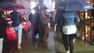 Download Sony Xperia Z5 Compact Water Test in the Rain NYC (Waterproof IP65/68) 3Gp Mp4
