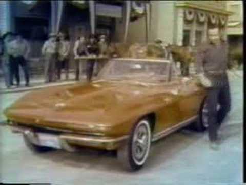 Corvette Stingray Watch on 1965 Corvette Tv Commercial From Corvette1967 Com