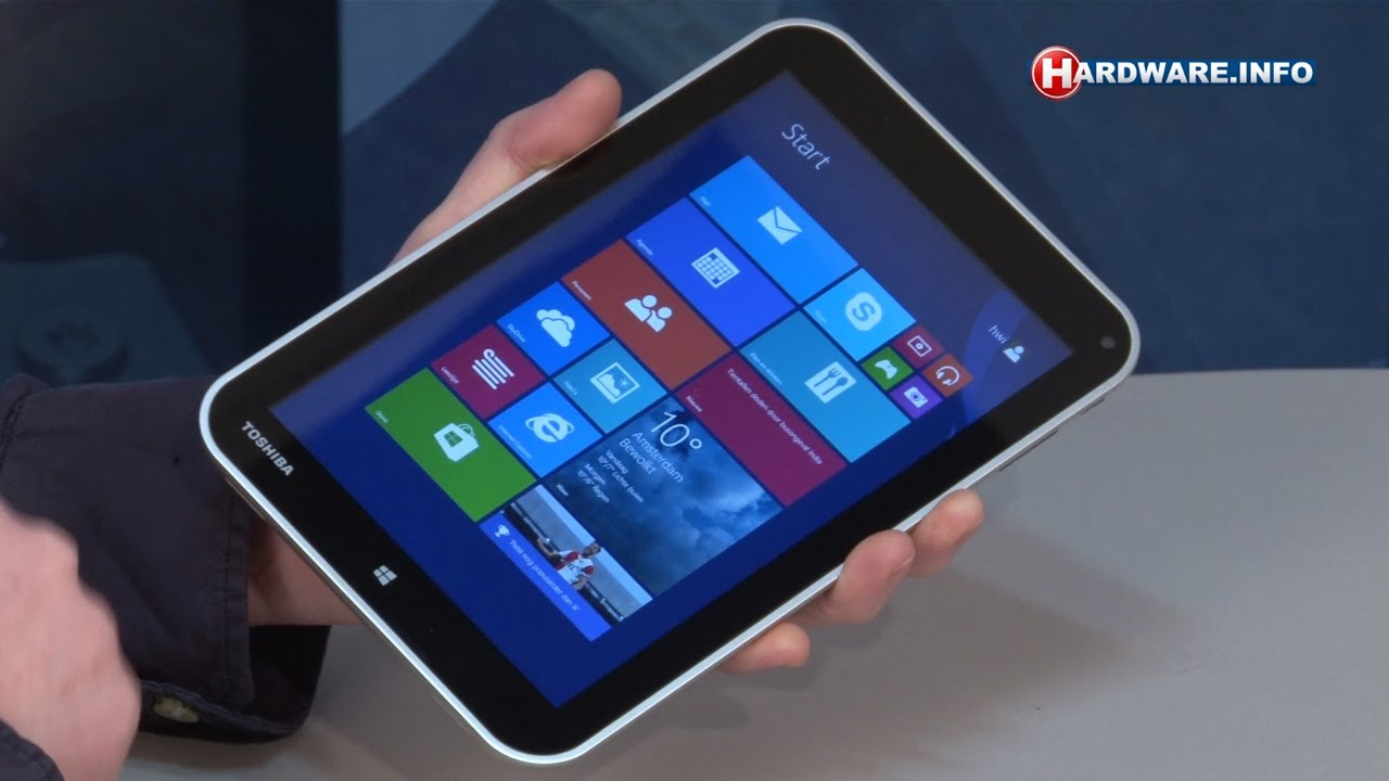 Toshiba Tablet Windows 8.1 Windows 8.1 Tablet Review