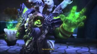 Grommash Hellscream Vs. Guldan; The Betrayal of Kil'Rogg