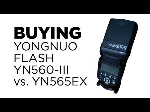 Buying Yongnuo Flash YN560III vs YN565EX review by Chung Dha