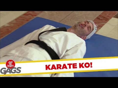 Karate Demonstration Fail Prank!