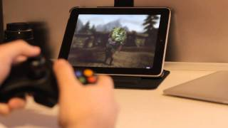 Splashtop: Skyrim running on an ipad? android?
