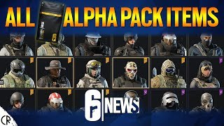 All 753 Alpha Pack Items - Wind Bastion - 6News - Tom Clancy's Rainbow Six Siege