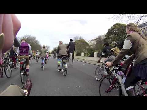 Tweed Run London 2013 pt1