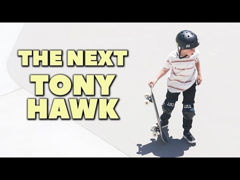 This 11 Year old is the next TONY HAWK!
