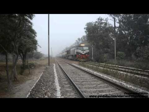 Pakistan Railways New 304 Dn with Economy Coaches