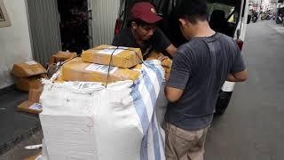 Lazada - Kiriman Paket Lazada WAFY ACCESSORIES MOTOR Ninja Expres