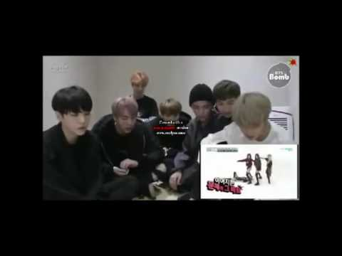 BTS reaction to BLACKPINK  2x BOOBAYAH