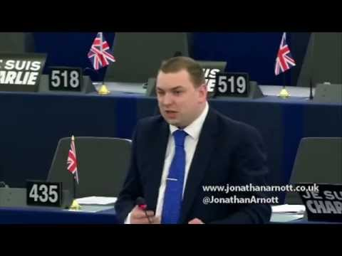 EU interference in national politics is unacceptable - Jonathan Arnott MEP