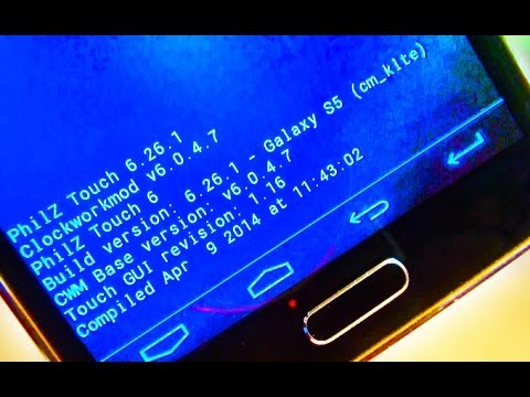 Samsung Galaxy S5 How to Install CWM