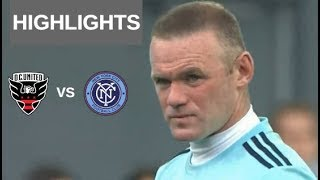 Wayne Rooney vs New York City FC Highlights | D.C. United vs New York City FC 21/04/2019