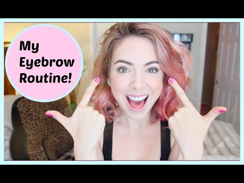 ♡ My Eyebrow Routine!