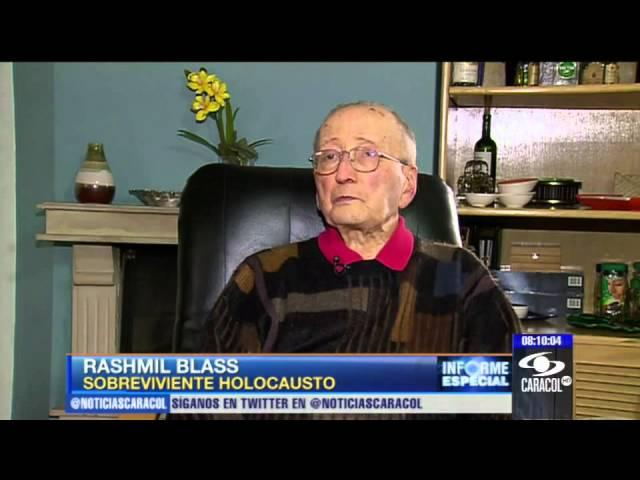 A mi papá lo quemaron vivo en los hornos, recuerda sobreviviente del holocausto - 18 de feb de 2013