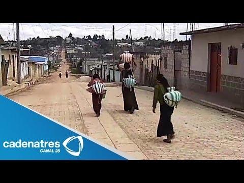 Pobreza, hambruna y marginación en Chanal, Chiapas en Semanal 28 01/12/13
