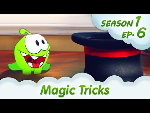 Om Nom Stories: Magic Tricks (Cut the ROPE, Episode 6) @KEDOO ANIMATIONS 4 KIDS