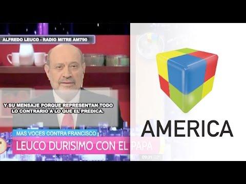 Polémica editorial de Alfredo Leuco contra el Papa Francisco
