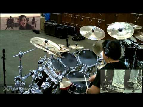 In The End By Black Veil Brides Drum Cover By Myron Carlos video
