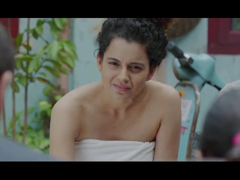 Kangana Lectures About Boredom In Her Towel - Tanu Weds Manu Returns