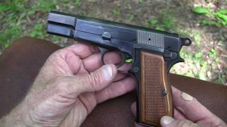 Speed Shooting the Majestic Belgium Browning Hi-Power Pistol