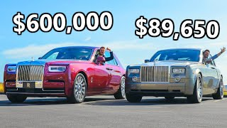 2020 Rolls-Royce Phantom vs The Cheapest Phantom You Can Buy
