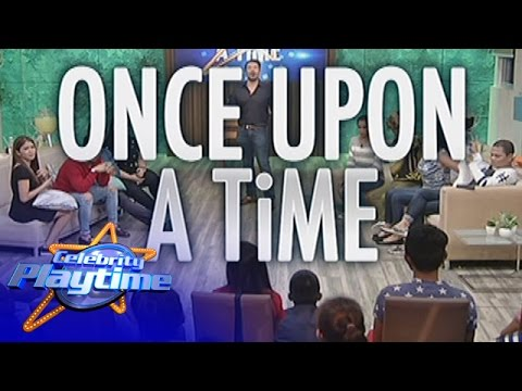 Celebrity Playtime: Once Upon A Time
