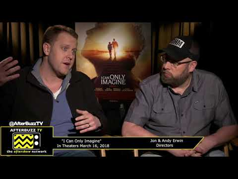 Jon & Andy Erwin | I Can Only Imagine Press Junket | AfterBuzz TV
